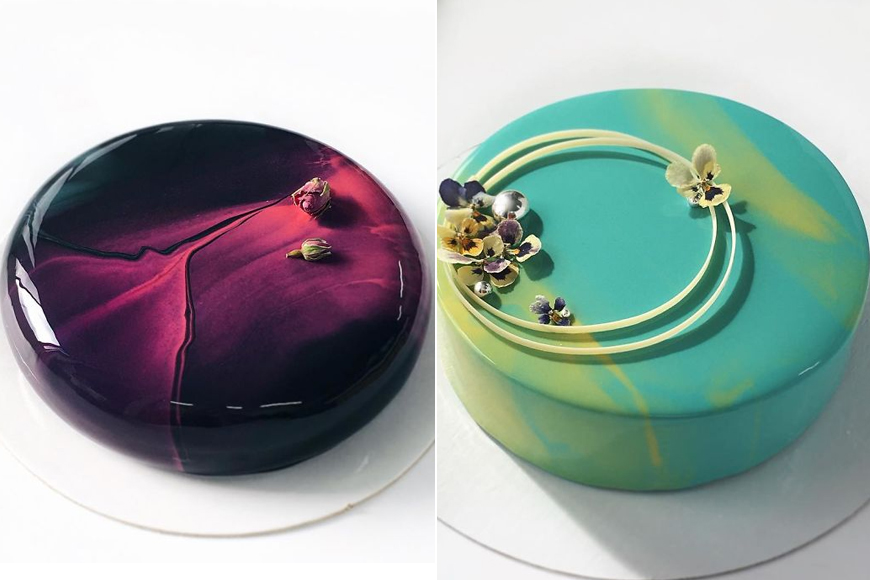 These mirror glazed cakes are so pretty they should be on for Mirror glaze