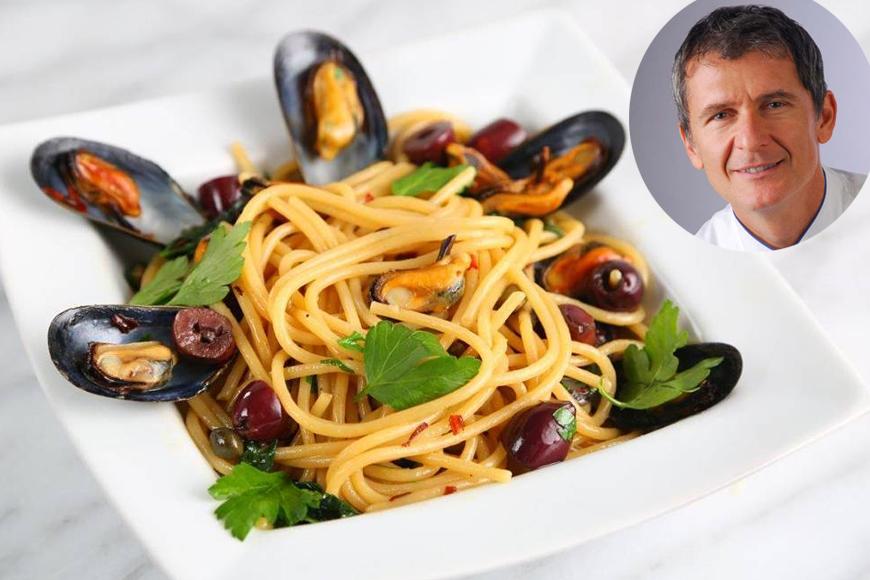 Meet The King Of Pasta: Chef Lorenzo Boni