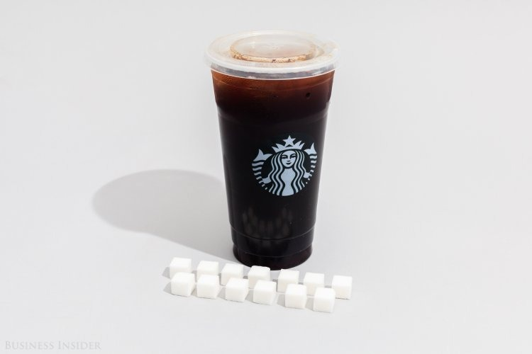 Starbucks Sweetened Iced Coffee