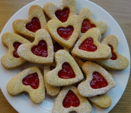 Mini Valentine Jammy Dodgers