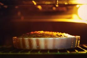 The Inside Of A Baker's Oven