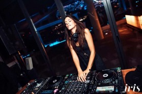 Serbian DJ Lea Dobricic hits the decks at Iris Outdoors on February 8