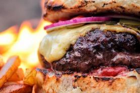 Stone Fired Cheeseburger