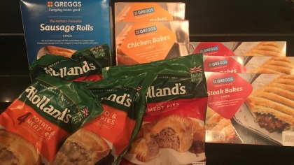 Greggs products on sale in UAE