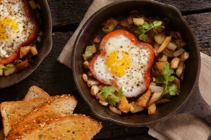 Breakfast egg recipes