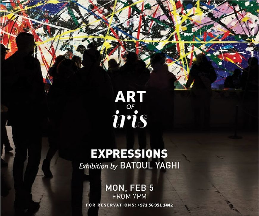 Art Of Iris Presents: 'Expressions' By Batoul Yaghi